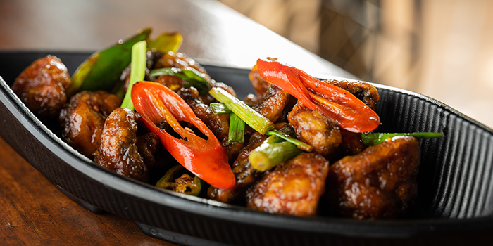 Chilli Mushroom from 79 After Dark in Boat Quay, Singapore