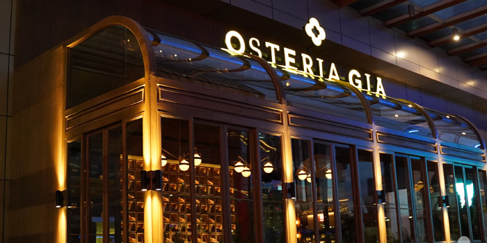 Exterior 1 at Osteria GIA, Pacific Place
