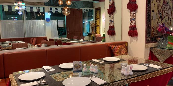 Dining Area from Persian House at 48/2-3 (Soi Wat Khak) Pan Road, Silom Bangkok