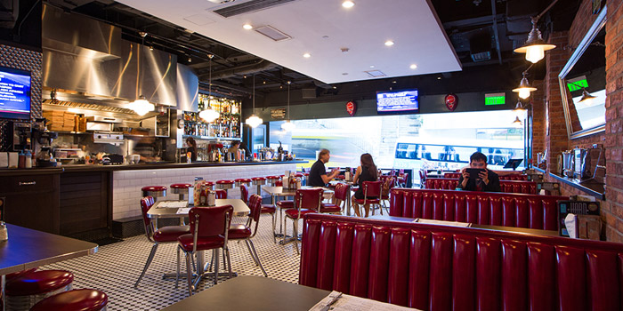 Dining Area, The Diner, Central, Hong Kong