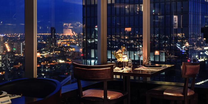 Dining Area of Urbani Truffle Bar & Restaurant at 39th floor Sathorn Square Building 98 North Sathorn Rd, Silom, Bangrak Bangkok