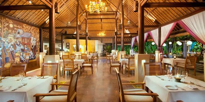 Interior from Ma Joly Restaurant, Kuta, Bali