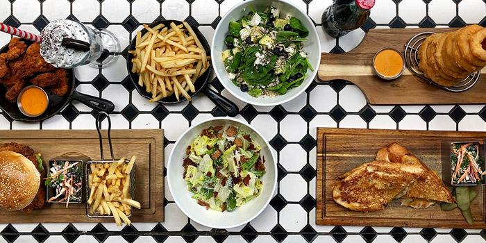 Dinner at The Diner, The Diner, Central, Hong Kong