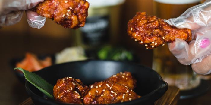 Fried Chicken from Super Seoul Cafe at 50 52 S Sathorn Rd Yan Nawa, Khet Sathon Bangkok
