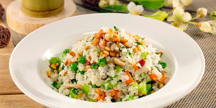 Fried Rice with Pine Nut & Mixed Vegetable, Shanghai Yu Yuan, Causeway Bay, Hong Kong