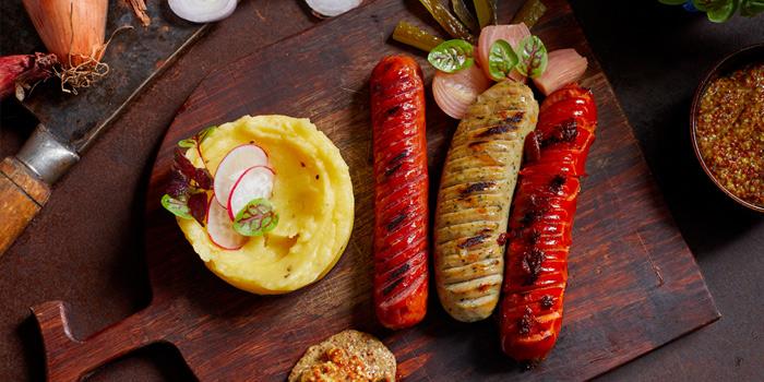 German Sausage Platter, MAZE, Tsim Sha Tsui, Hong Kong