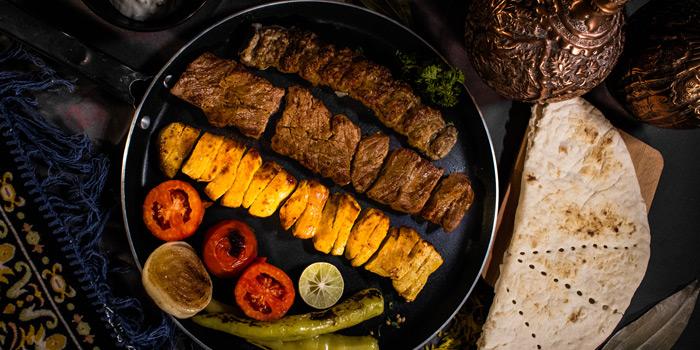 Grilled Dishes from Persian House at 48/2-3 (Soi Wat Khak) Pan Road, Silom Bangkok