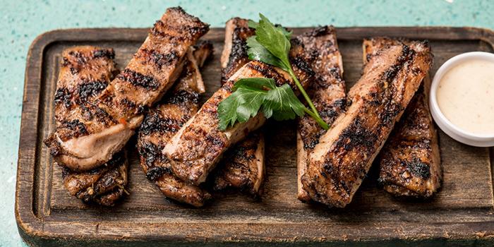 Grilled Pork, Rummin