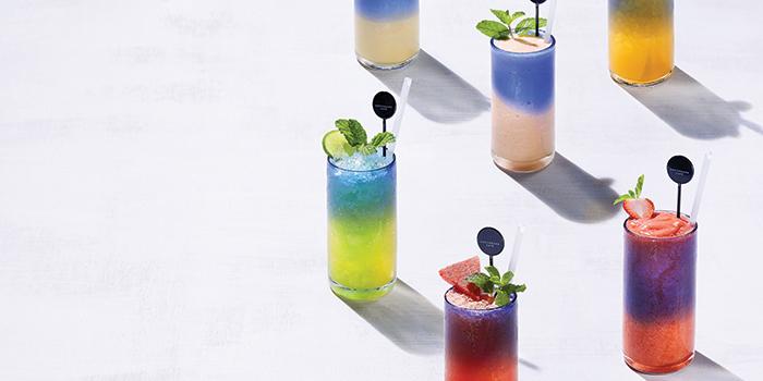 Healthy Cocktails, Greyhound Cafe (Elements), Tsim Sha Tsui, Hong Kong