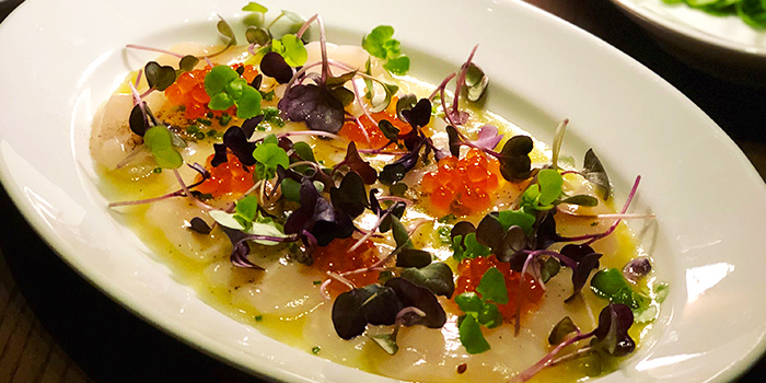 Hokkaido Scallop Ceviche from 665°F at Andaz Singapore in Bugis, Singapore