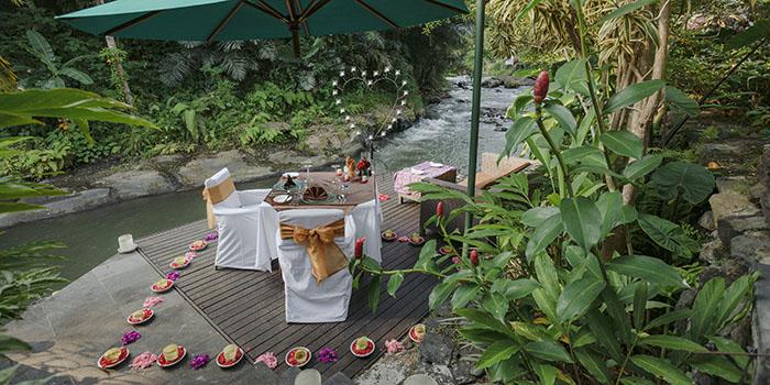 Romantic Dinner from Swept Away, Ubud, Bali