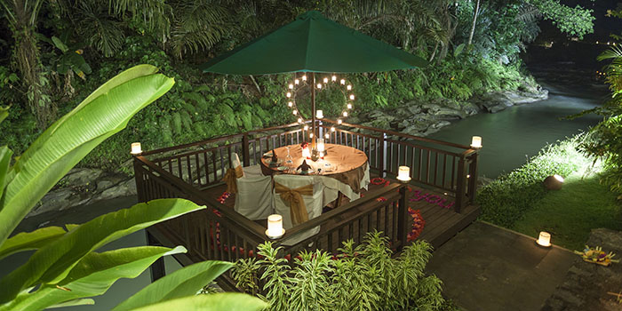 Swept Away Restaurant at The Samaya Ubud Villa