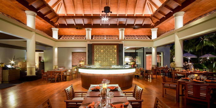 Interior of Saffron in Cherngtalay, Phuket, Thailand