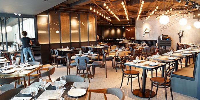 Interior, Greyhound Cafe (Elements), Tsim Sha Tsui, Hong Kong
