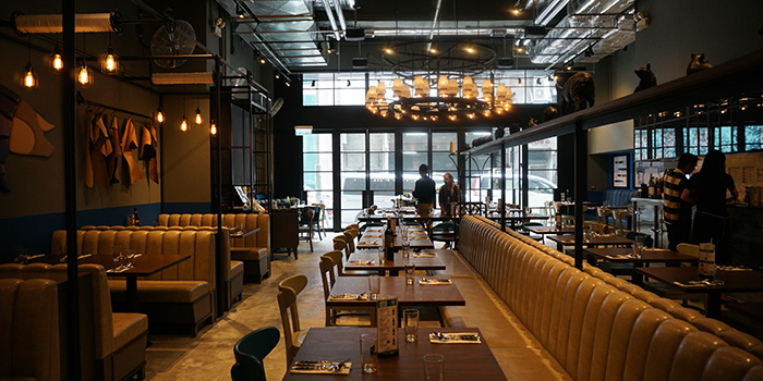 Dining Area, The Salted Pig, Lai Chi Kok, Hong Kong