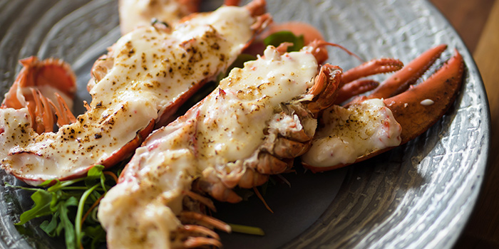 Lobster Gratin from Caffé B at Club Street, Singapore