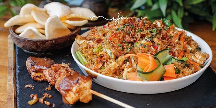 Food from Meja Kitchen & Bar, Bali