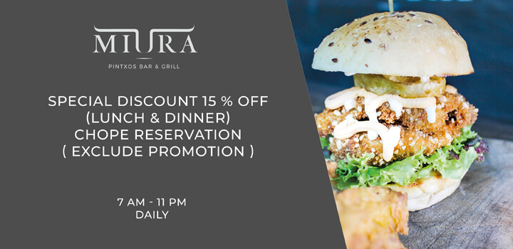 Promotion from MIURA, Bali