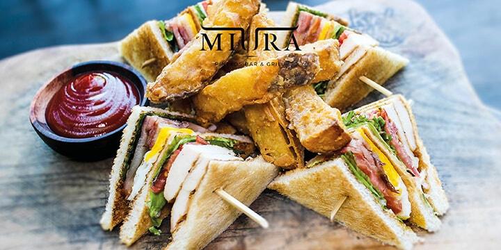 Food from MIURA, Bali
