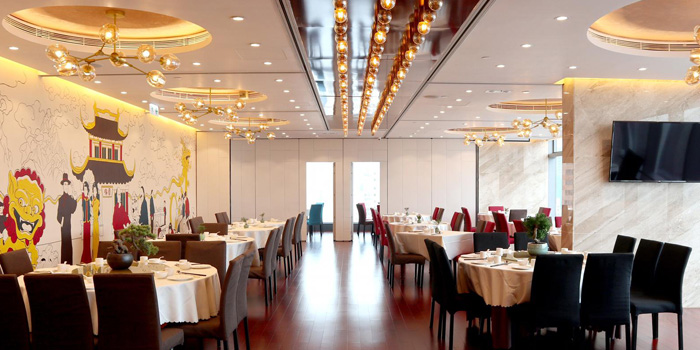 Main Dining AreaShanghai Yu Yuan, Causeway Bay, Hong Kong