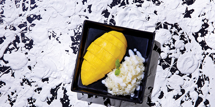 Mango with Sticky Rice, Greyhound Cafe (Elements), Tsim Sha Tsui, Hong Kong