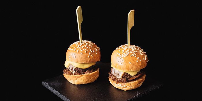 Mini Burger from The Winery Tapas | Bar in City Hall, Singapore