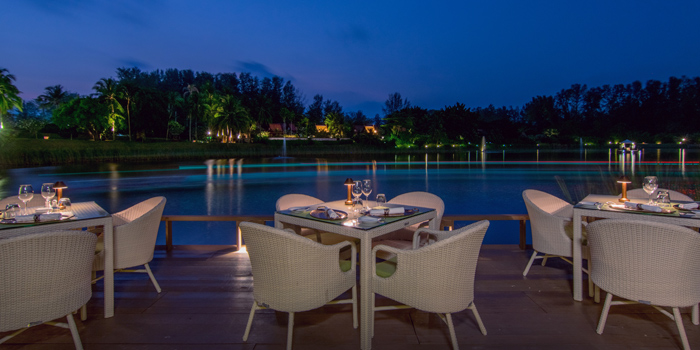 Outdoor of  The Watercourt in Cherngtalay, Phuket, Thailand