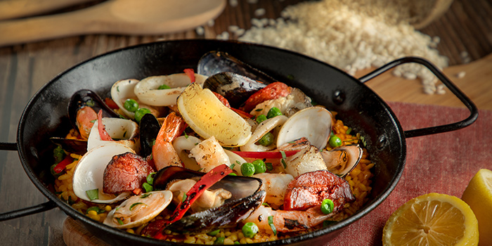 Paella, The Salted Pig, Lai Chi Kok, Hong Kong
