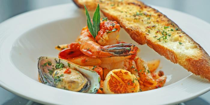 Penne Seafood Marinara at Anigre Restaurant, Sheraton Gandaria