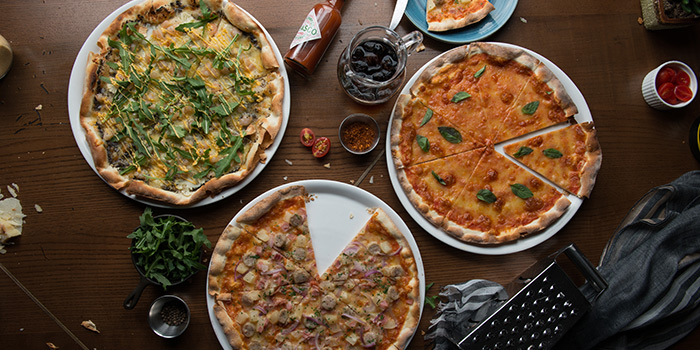 Pizza, Glasshouse (IFC), Central, Hong Kong