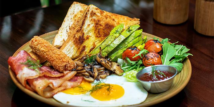 Plunge Breakfast Platter at Plunge Dining & Co.