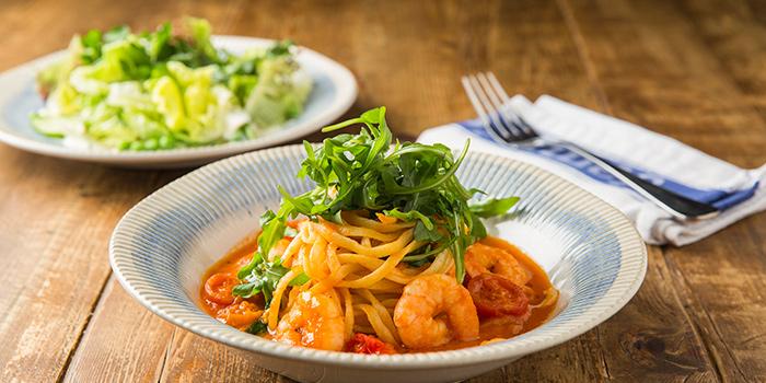 Prawn Linguine, Jamie's Italian, Tsim Sha Tsui, Hong Kong