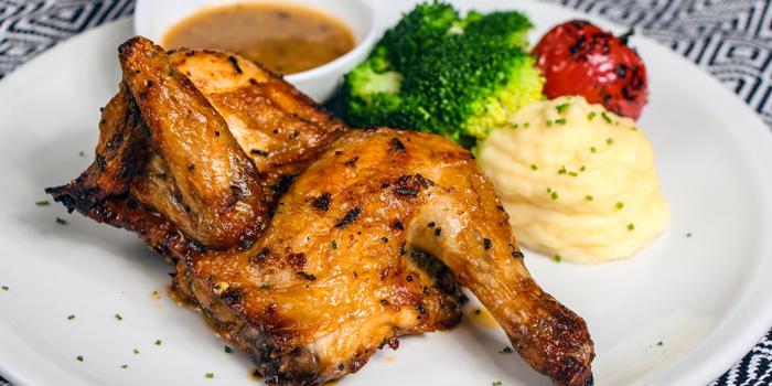 Roasted Half Chicken, Bungalow, Lan Kwai Fong, Hong Kong