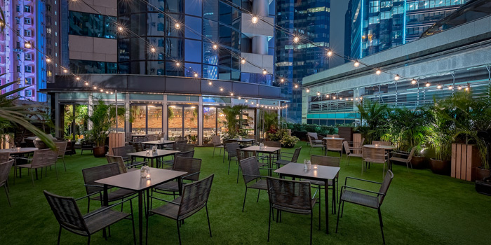 Rooftop Area, The Leah, Causeway Bay, Hong Kong