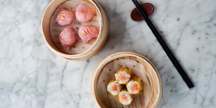 Rose Gold Har Gao and Kurobuta Pork Siu Mai with Crab Roe, Redhouse, LKF, Central, Hong Kong