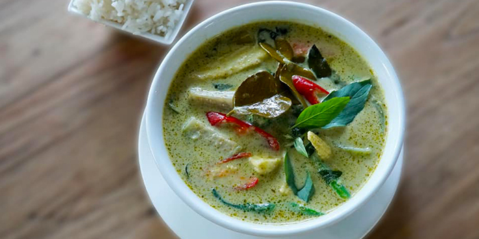 Thai Green Curry from Basil & Thyme in East Coast, Singapore