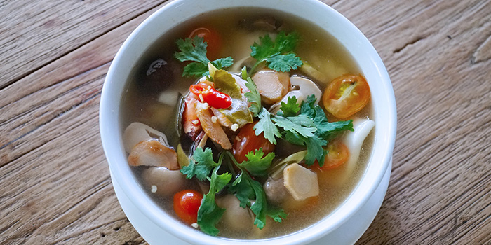 Tom Yam Soup from Basil & Thyme in East Coast, Singapore