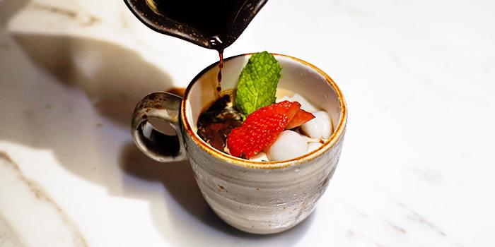 Coffee Cream Anmitsu from Bincho at Min Jiang in Dempsey, Singapore