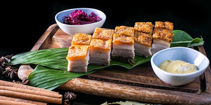 Roasted Pork Belly from OPIO Kitchen & Bar in Queentown, Singapore