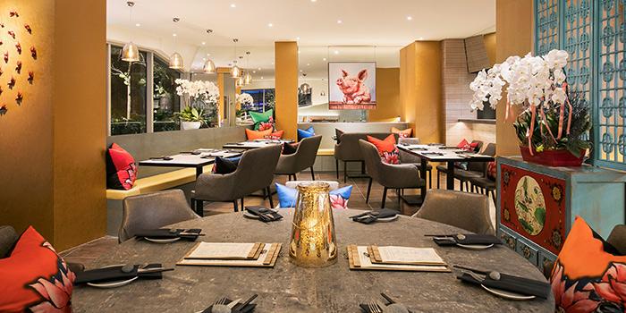 Interior of Blue Lotus @ Tanjong Pagar at Tanjong Pagar Centre in Tanjong Pagar, Singapore