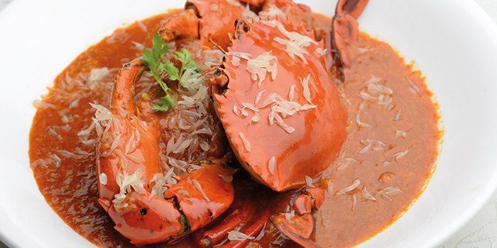 Signature Chilli Pomelo Crab from Blue Lotus @ Tanjong Pagar at Tanjong Pagar Centre in Tanjong Pagar, Singapore