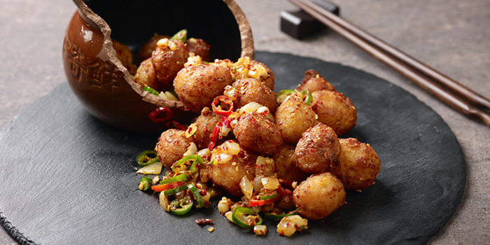 Fried Mini Potatoes from Chengdu 成都 in Telor Ayer, Singapore