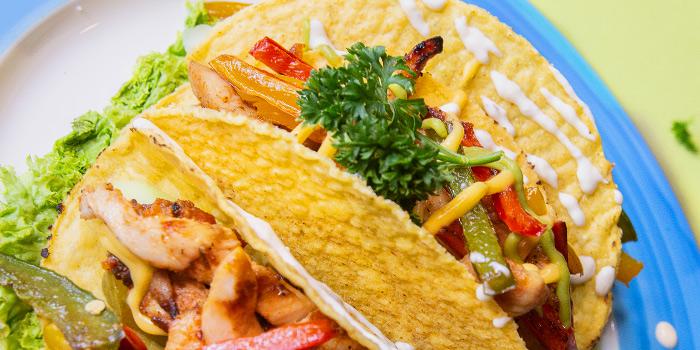 Chicken Tacos from Cuba Libre Cafe & Bar (Clarke Quay) in Clarke Quay, Singapore
