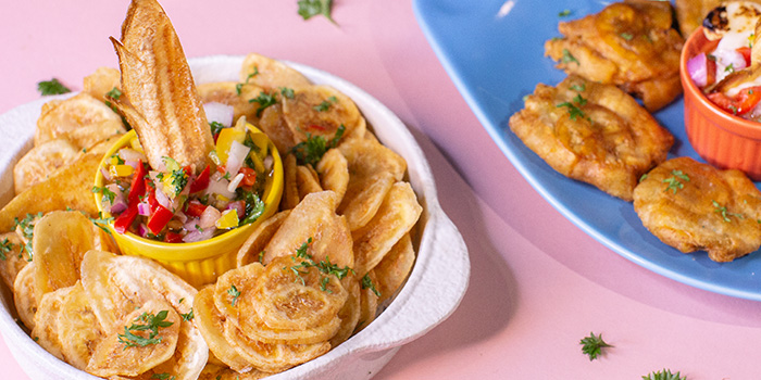 Banana Chips & Tostones from Cuba Libre Cafe & Bar (Frasers Tower) in Tanjong Pagar, Singapore