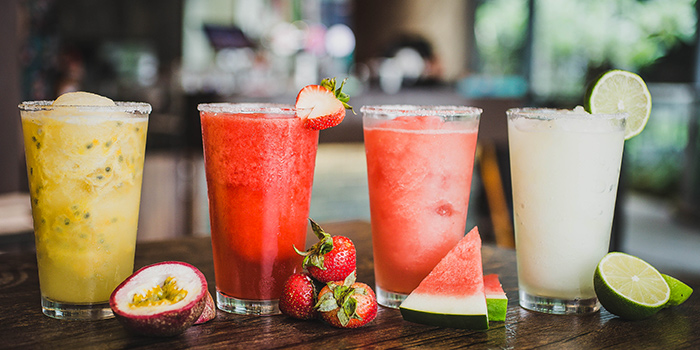 Juices from Cuba Libre Cafe & Bar (Frasers Tower) in Tanjong Pagar, Singapore