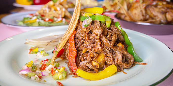 Ropa Vieja from Cuba Libre Cafe & Bar (Frasers Tower) in Tanjong Pagar, Singapore