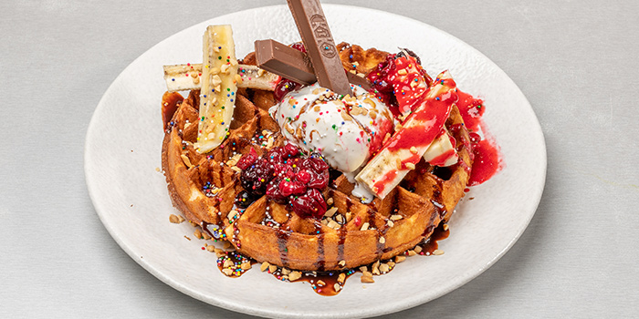 Waffles from G Bar & Grill at Apex @ Henderson in Bukit Merah, Singapore