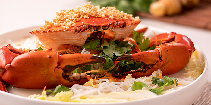 Crab Bee-Hoon Soup from JÙN Restaurant at Capri by Fraser, China Square in Chinatown, Singapore