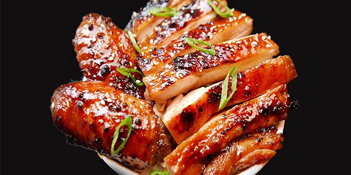 Honey Teriyaki Bowl from Maru Japanese Restaurant at ICON Village in Tanjong Pagar, Singapore