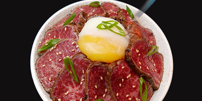 Wagyu Bowl from Maru Japanese Restaurant at ICON Village in Tanjong Pagar, Singapore